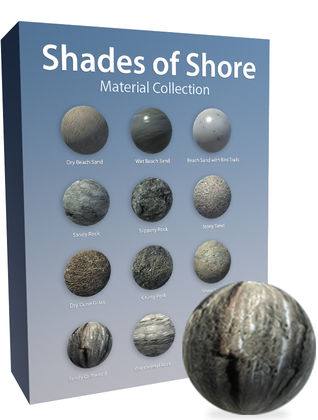 Shades of Shore Material-Pack